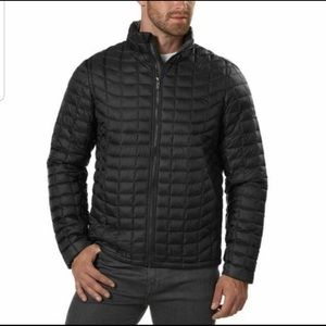 Ben Sherman Men's Quilted Puffer Zip Up Size Large